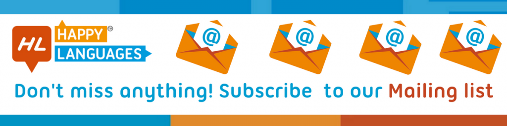 Subscribe to our mailing list and learn Italian