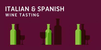 italian and spanish wine tasting