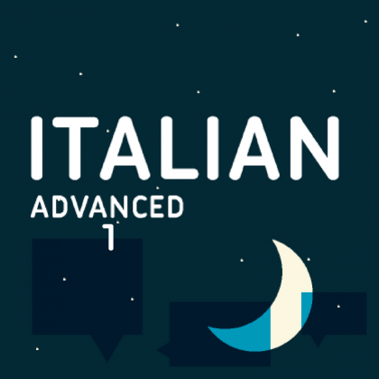 Italian evening classes advanced