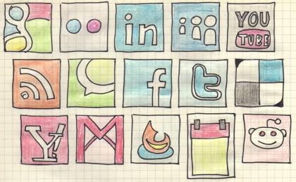 social networks and languages