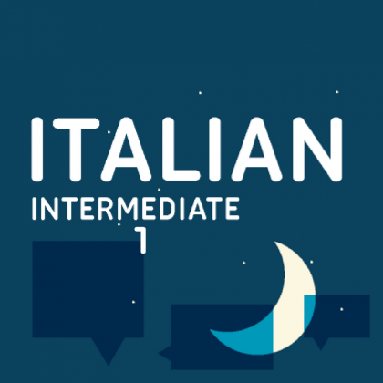 Italian evening classes intermediate