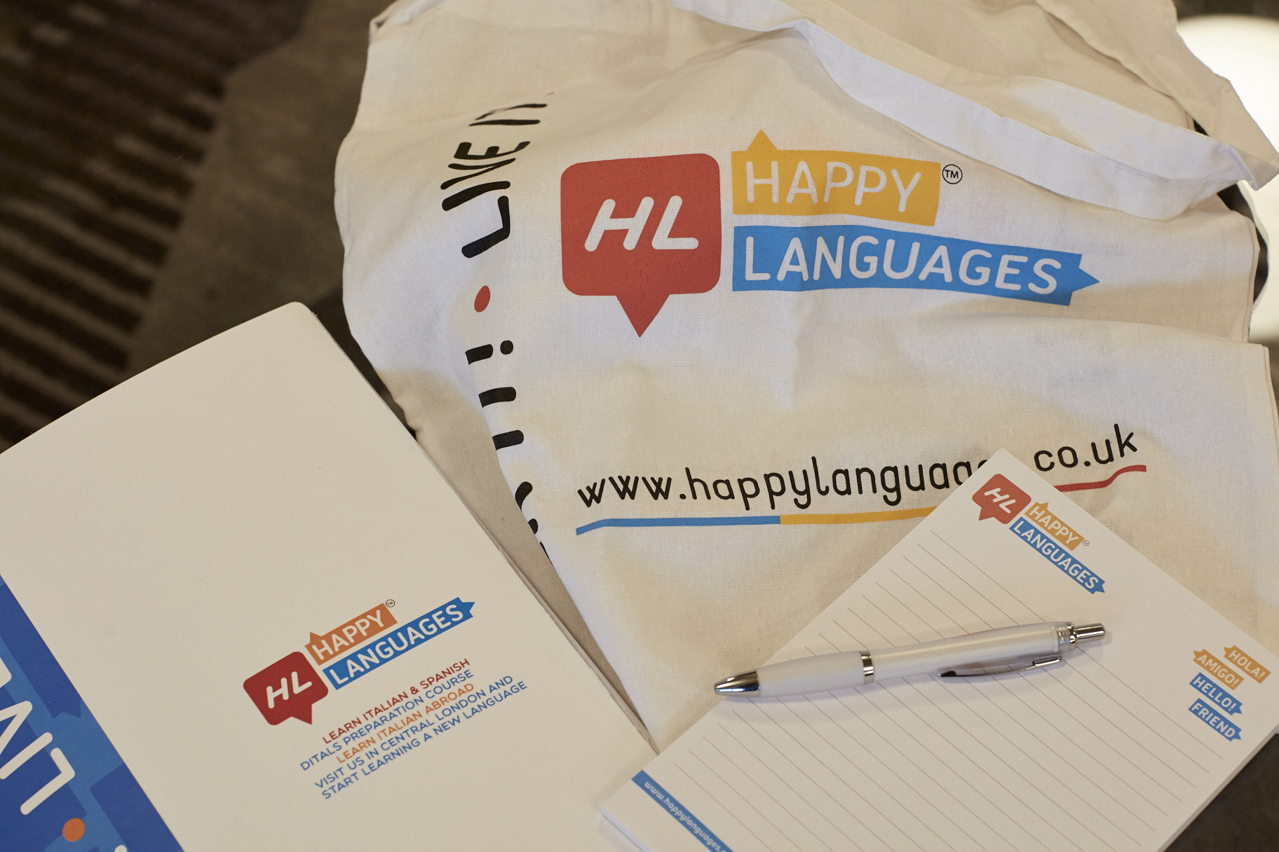 Happy Languages Kit