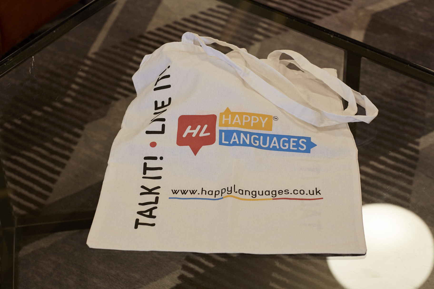 Happy Languages Bag