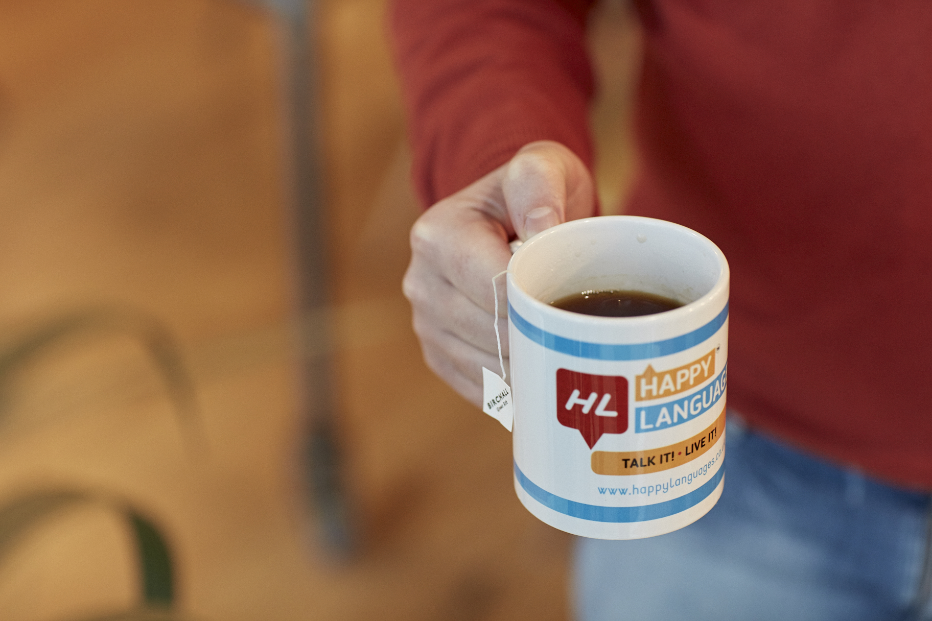 Happy Languages Mug
