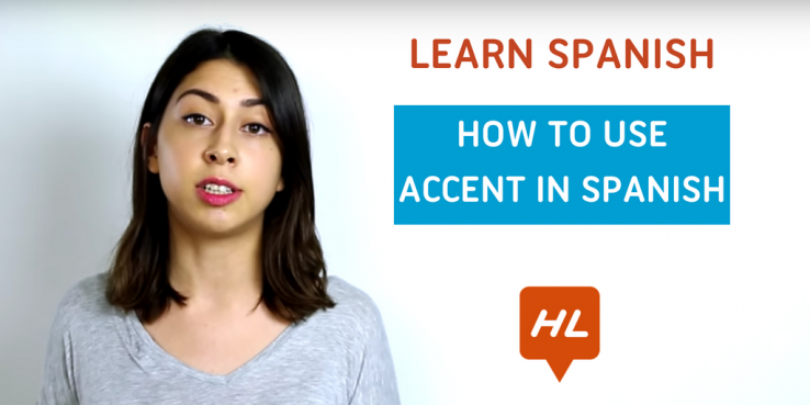 use accent Spanish
