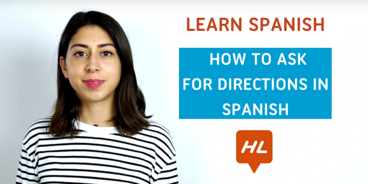 ask for directions in spanish