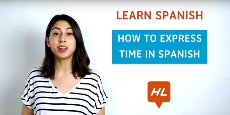 how to express time in spanish