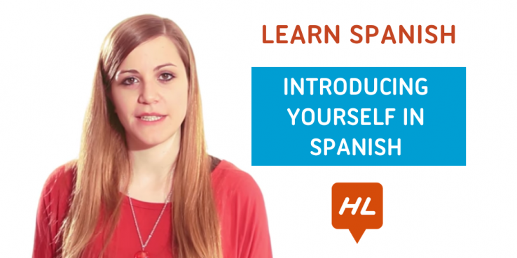 introducing yourself in spanish
