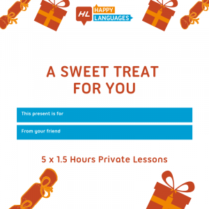 Private Lessons Voucher