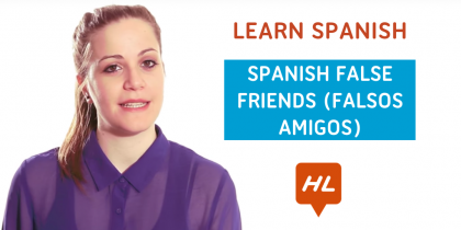 spanish false friends