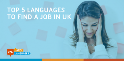 top 5 languages to find a job in uk