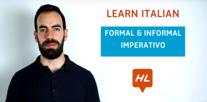 Formal and Informal Imperative