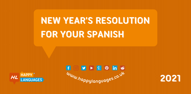 Learn Spanish as part of your New Year Resolution
