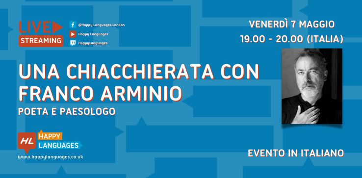 live streaming with Franco Arminio