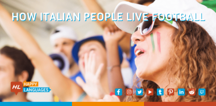 Italian people and their passion for football